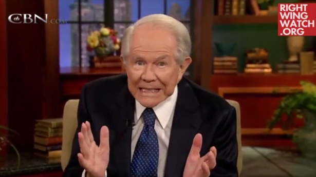 Pat Robertson fumbles trying to Justify Genocide in the Bible